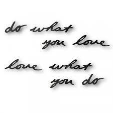 <b>Декоративная надпись Do</b> What You Love | Многоформатная ...