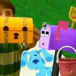 shovel and pail blues clues. Image Blue S Clues Mailbox With Shovel And Pail Blues