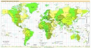 High Quality World Map Free High Resolution Map Of World Time Zones