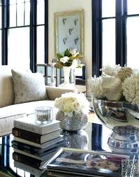 glass coffee table decorating ideas decor centerpieces decorations round