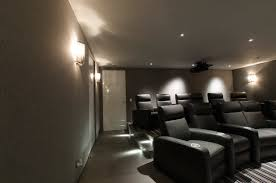 home theater floor lighting. Perfect Theater Port LED Square Wall  Floor Recessed By Edge Lighting Contemporaryhome Theater Inside Home Theater E