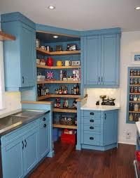 Corner pantry.