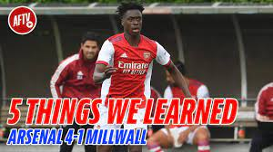 We Learned   Arsenal 4-1 Millwall - YouTube
