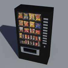 Vending Machine 3d Model New Snacks Vending Machine 48D Model FormFonts 48D Models Textures