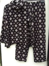 Carole Hochman Animal Print Pajamas Xl Cotton And