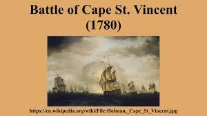「1780 Battle of Cape St Vincent」の画像検索結果