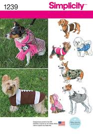 Dog Costume Patterns New Amazon Simplicity Creative Patterns 48 Dog Coats In Three