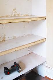 Making Floating Shelves DIY Floating Shelves Little House On The Corner 89