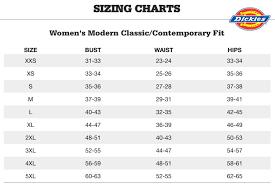 54 Abundant Dickies Clothing Size Chart