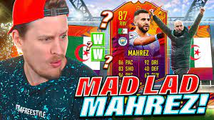 GUARANTEED UPGRADE?! 87 HEADLINERS MAHREZ PLAYER REVIEW! FIFA 21 Ultimate  Team - YouTube