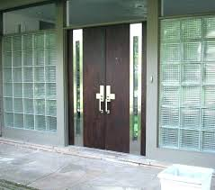 double entry doors contemporary modern front glazed