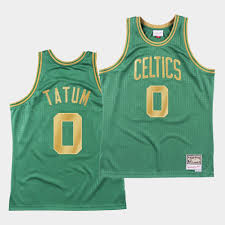 Jayson tatum signed a 4 year / $30,073,320 contract with the boston celtics, including $30,073,320 guaranteed, and an annual average salary of $7,518,330. Boston Celtics Jayson Tatum Social Justice Authentic Green Jersey