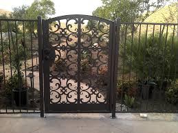 4 ft wide metal garden gate contemporary metal gate outdoor wrought iron pedestrian garden walk