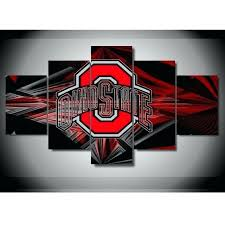 canvas ohio state state buckeyes football canvas wall art