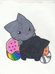Small Picture Nyan cat coloring page by jaybird28 on DeviantArt