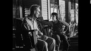 the legacy of to kill a mockingbird robert duvall as boo radley on the porch swing scout
