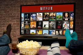 watching netflix on tv. the way we watch tv is rapidly changing. streaming services such as netflix and stan are becoming our go-to to relax, with great content, watching on tv whistleout