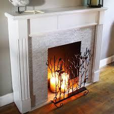 l and stick decoration tiles smart tiles virtual fireplacesmart tiles candlefireplacesirelanddiy déco