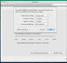 How The Command And Option Keys Work On A Mac