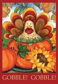 garden flag fall thanksgiving