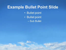 Sky Powerpoint Template