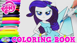 Small Picture My Little Pony Coloring Book Rarity MLPEG Episode Surprise Egg and