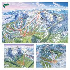 Whitefish Resort at Big Mountain Trail Map