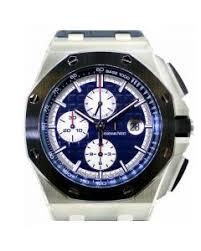 mens platinum watches for audemars piguet royal oak offshore chrono platinum 26401po oo a018cr 01