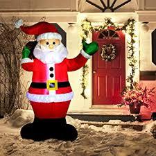 <b>Christmas Inflatable Decoration</b> 6 Foot <b>Santa</b> Claus <b>LED</b> Light Up ...
