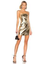 skylar faux leather dress