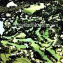 Golf Course Models - Pine Knob Golf Course Model - Howard Models