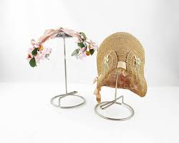 Fascinator Display Stands Inspiration Instant Hat Display 32s Vintage Hat Stands With Hats Metal Arm