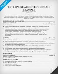 Enterprise Architect Resume Resumecompanion Com Resume Samples