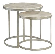 captivating nesting side tables of bernhardt home gallery idea with entranching round brass coffee table intended