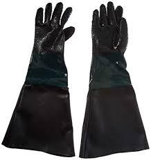dragway tools rubber sandblasting gloves for model 60 90 110 260 sandblast cabinets