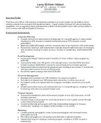 Cover Letter Non Profit Sample Cover Letter For Executive Director