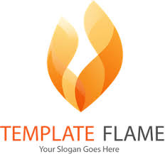 Abstract fire flame Logo Vector (.EPS) Free Download
