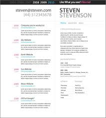 Free Resumes Templates Online Resume Template Microsoft Word 7 All