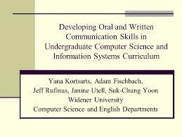 oral communication skills essay