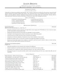 Superintendent Resume Template – Lespa