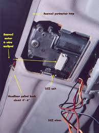 one touch sunroof open dei timer relay installation instructions wrap the end of the orange dei wire electrical tape and tuck it away i stuffed mine in the foam that s in front of the switch