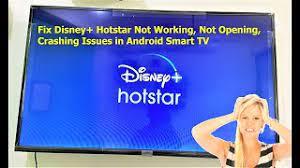 Sementara disney+ hotstar jarang terjadi buffering. Fix Disney Hotstar Not Working Crashing Issues In Android Smart Tv Youtube
