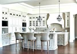 gray leather bar stools gray wash curved kitchen island breakfast bar with leather counter stools light
