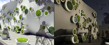 green wall office. Symbiotic Green Wall Office
