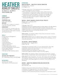 Marketing Director Resume Examples
