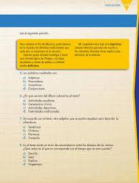 ¿necesitas el libro de español de 6 grado contestado para comprobar las soluciones de los ejercicios? Espanol Sexto Grado 2016 2017 Online Pagina 179 De 184 Libros De Texto Online