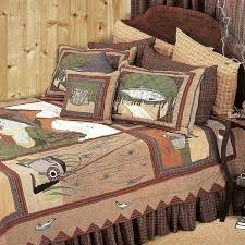 duvet covers 33 chic design fishing themed bedding gone set designs quilt collection cabin place sets
