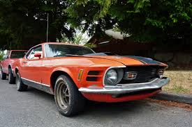 Seattle's Parked Cars: 1970 Ford Mustang Mach 1