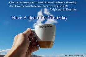 Thursday Morning Quotes Unique Best Good Morning Thursday Inspirational Quotes Images