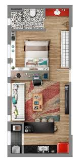 Studio Style Neorama Floor Plan Home In 40 Pinterest Interesting Apartments Floor Plans Design Style